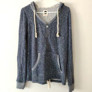 Roxy Zip Up Hoodie Sweater Sweatshirt